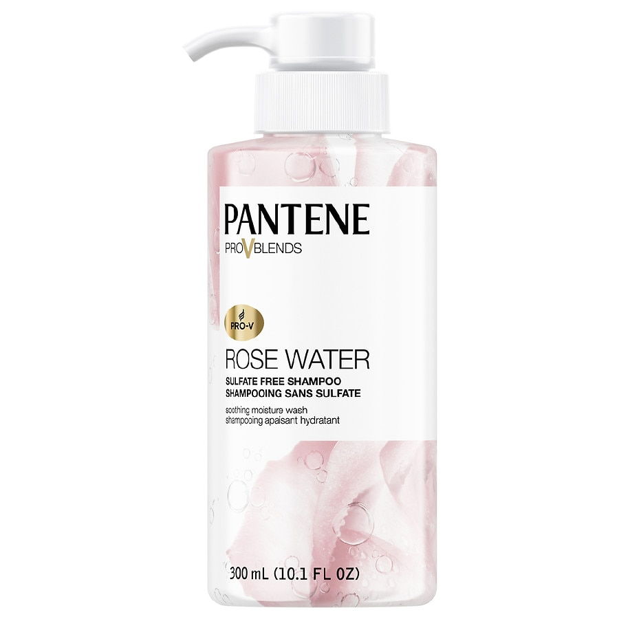 Pantene Pro V Rose Water Sulfate Free Soothing Shampoo Walgreens