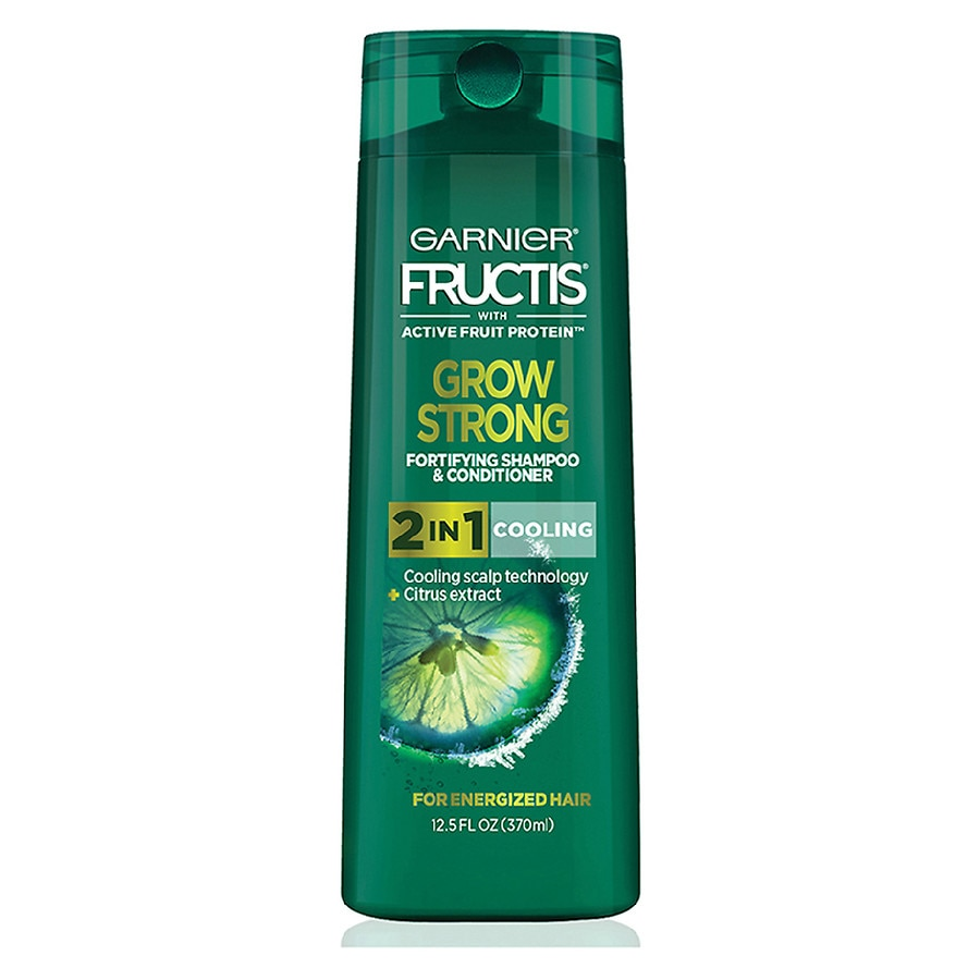 Garnier Fructis Grow Strong Cooling 2-In-1 Shampoo and Conditioner for Men