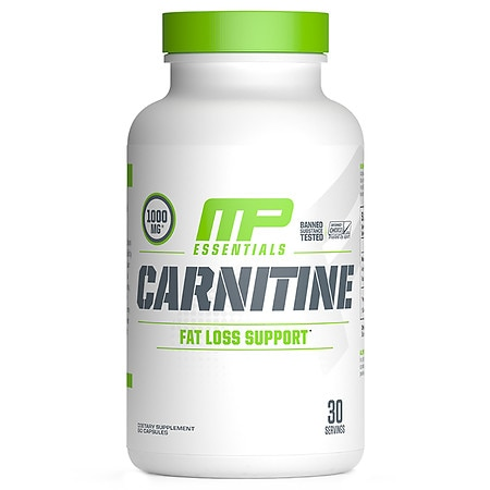 MusclePharm Carnitine Essential Capsules 30 servings - 60 ea