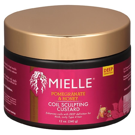 Mielle Organics Pomegranate Honey Curl Custard - 12 OZ