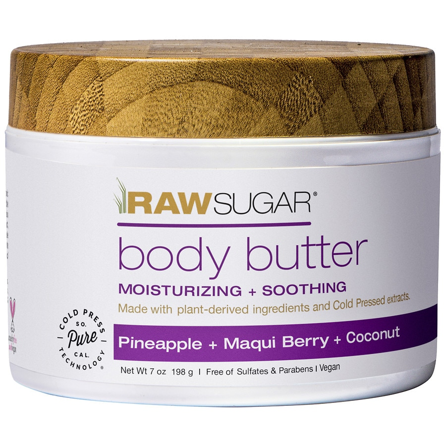 Raw Sugar Body Butter Pineapple Maqui Berry Coconut Walgreens