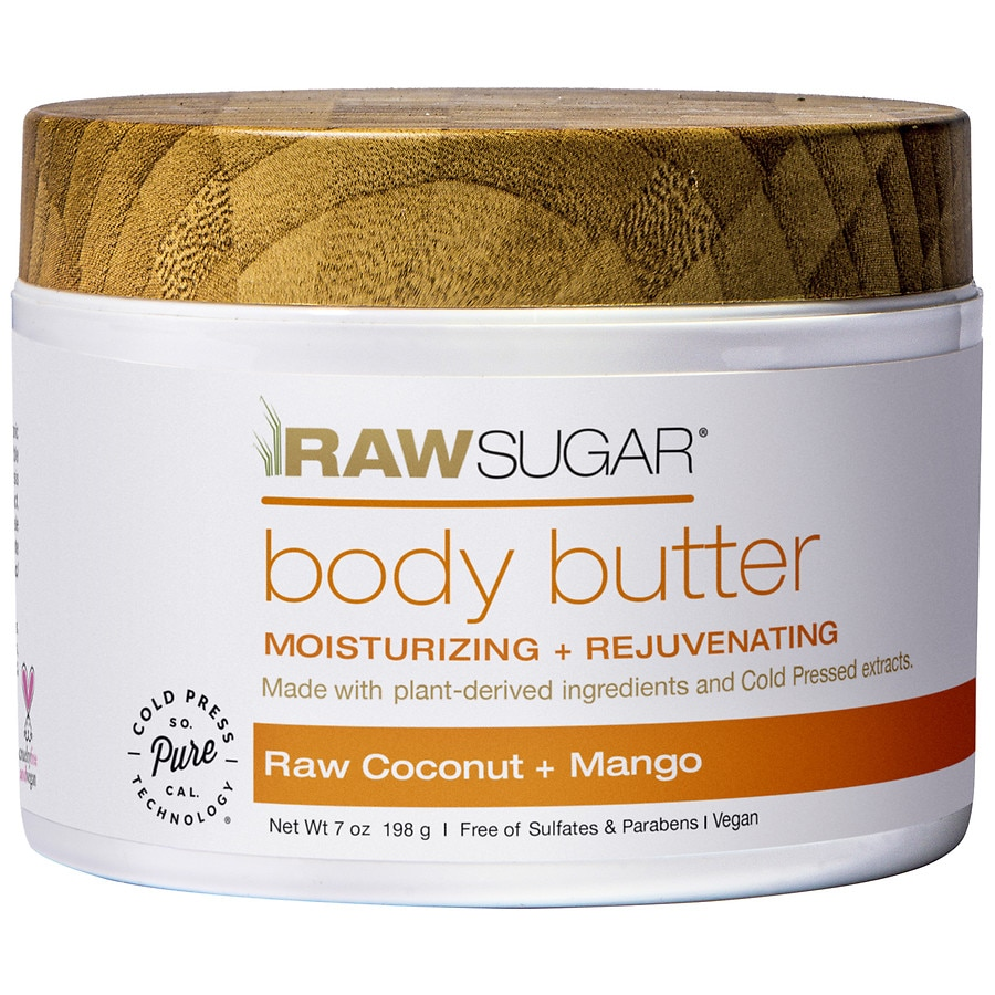 Raw Sugar Body Butter Raw Coconut Mango Walgreens