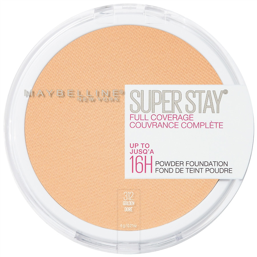Details about Maybelline Super Stay Full Coverage 16HR Powder  Foundation*You Choose*