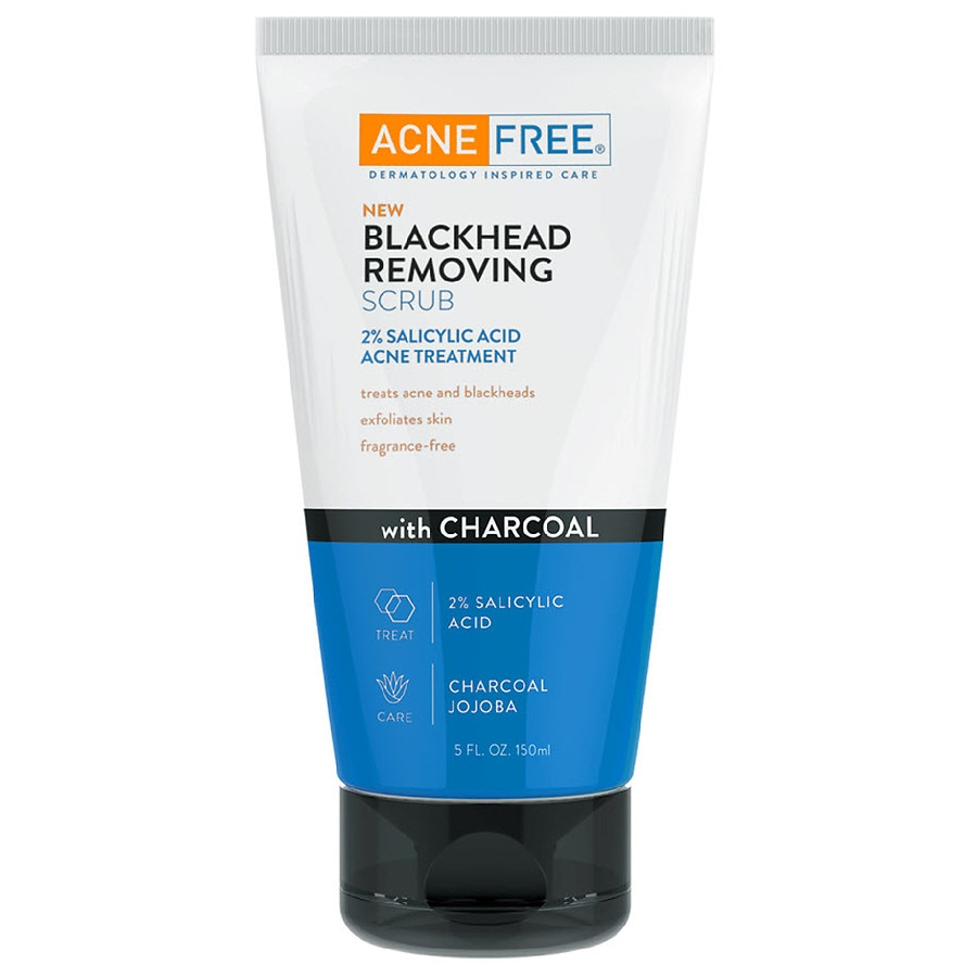 Acnefree Blackhead Removing Face Scrub With Salicylic Acid Acne