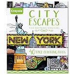 Crayola Adult Coloring Book - City Escapes Around the World