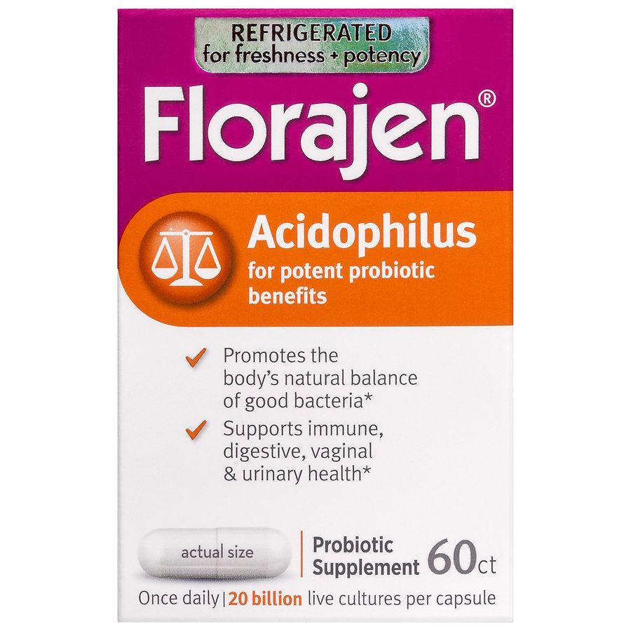 Florajen Acidophilus Walgreens
