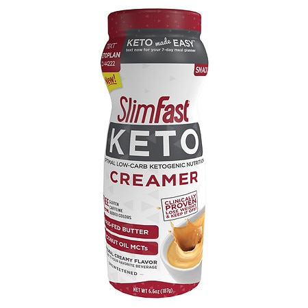 SlimFast Ketogenic Creamer - 6.6 oz.