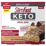 SlimFast Keto Meal Replacement Bar Peanut Butter