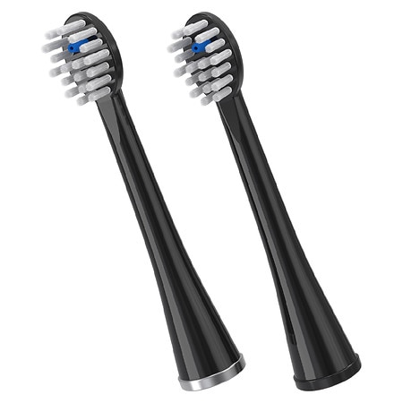 Waterpik Sonic-Fusion Flossing Toothbrush Replacement Heads - 2 ea
