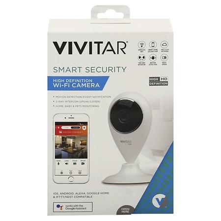 Vivitar Smart Security High Definition Wi-Fi Camera - 1 ea