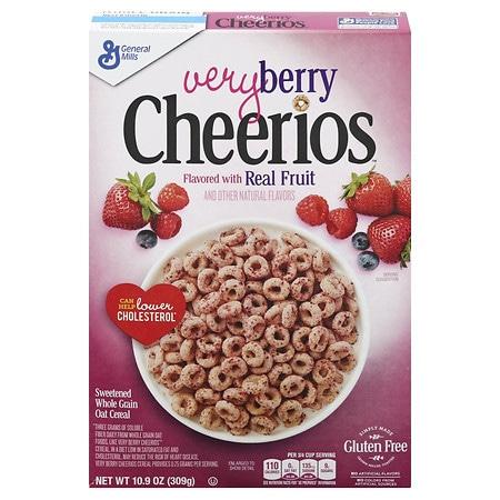 Cheerios Very Berry Cereal - 10.9 OZ