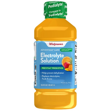Walgreens Electrolyte Solution Tropical Punch - 33.8 oz.