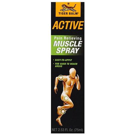Tiger Balm Active Muscle Spray - 2.53 fl oz