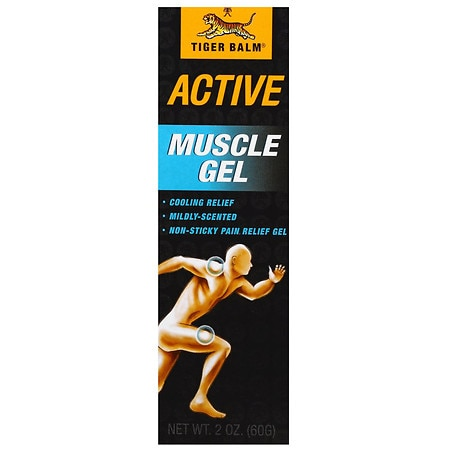 Tiger Balm Active Muscle Gel - 2 oz.