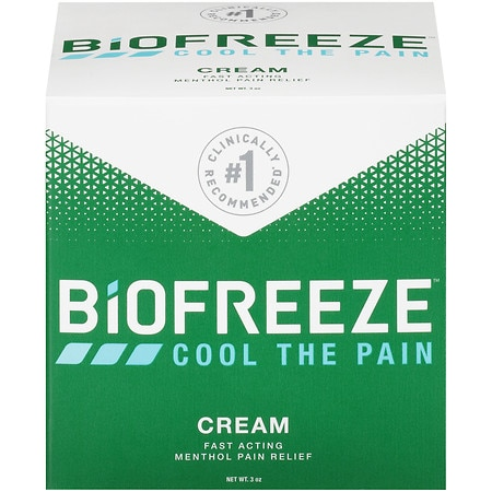 BIOFREEZE Soothing Pain Relief Cream - 3 oz.