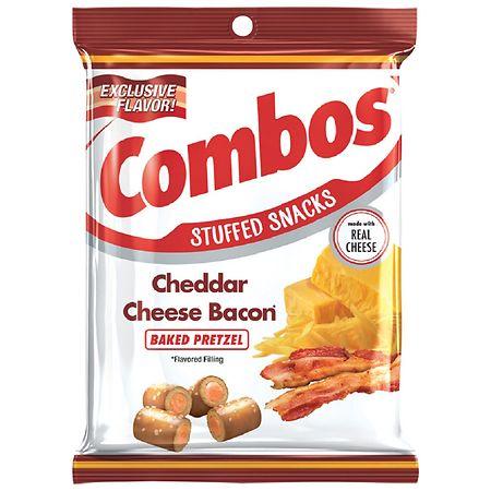 Combos Cheddar Cheese Bacon Baked Pretzel - 6 oz.