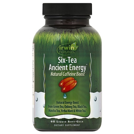 Irwin Naturals Six-Tea Ancient Energy - 60 ea
