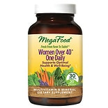 MegaFood Women Over 40 One Daily Supplement