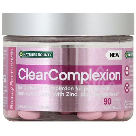 Nature's Bounty Beauty Beauty ClearComplexion Softgels - 90 ea