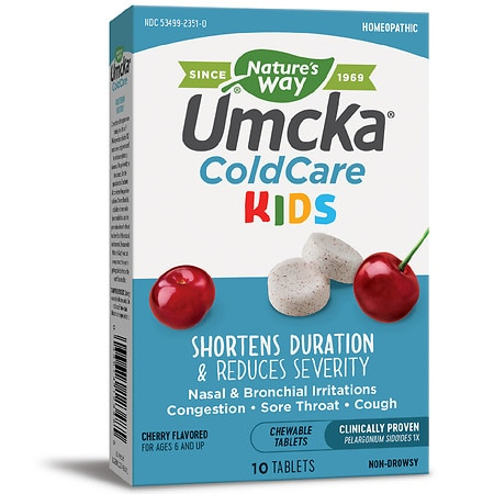 Nature's Way ColdCare Kids Chewable - 10 ea