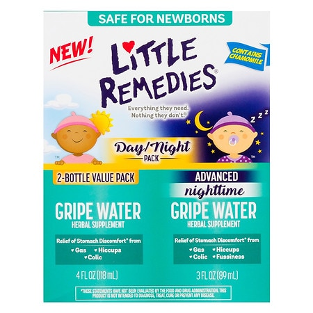 Little Remedies Gripe Water Day/Night Pack - 1 ea