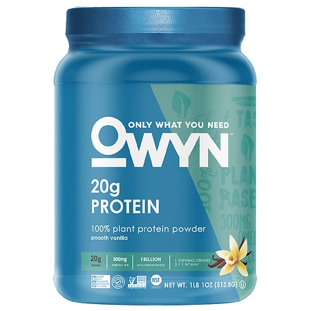 OWYN 100% Vegan Plant-Based Protein Powder - 17 oz.