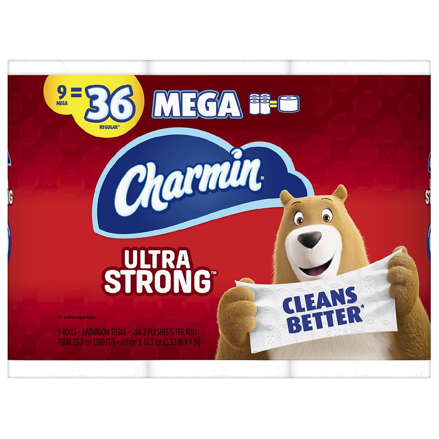 Charmin Ultra Strong Toilet Paper Walgreens