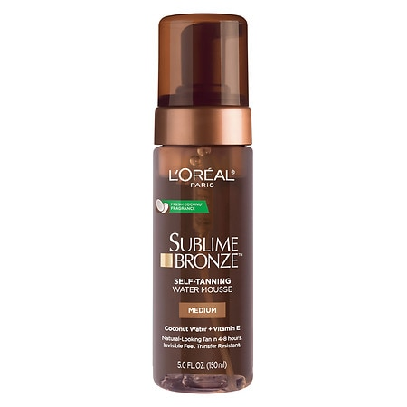 L'Oreal Sublime Bronze Hydrating Self-Tanning Water Mousse - 5 fl oz