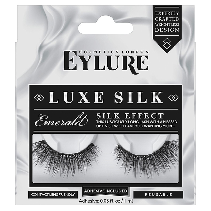 bb0c91a05d5 Eylure Luxe Silk Lash Emerald | Walgreens