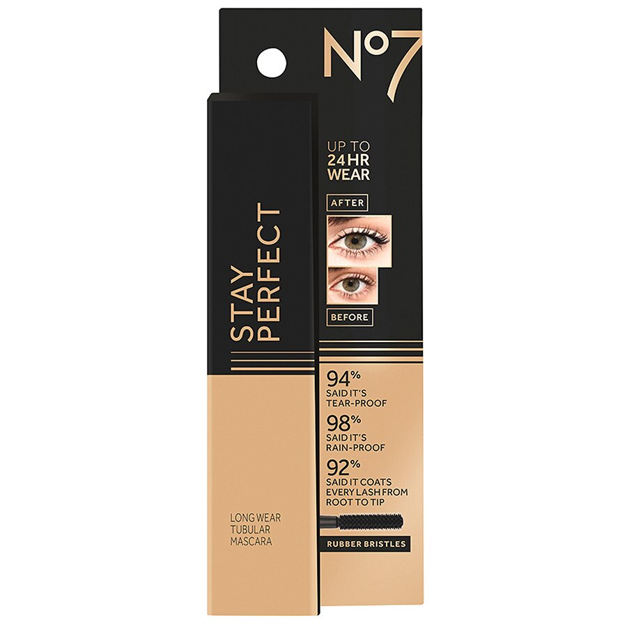 bd266f70b89 No7 Stay Perfect Long Wear Tubular Mascara Black | Walgreens