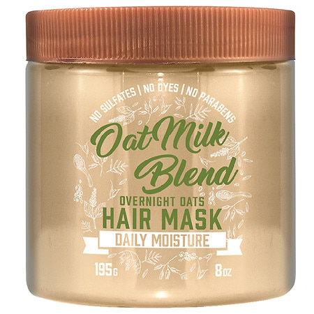 Aveeno Hydrating Oat Milk Blend Overnight Oats Hair Mask - 8 oz.