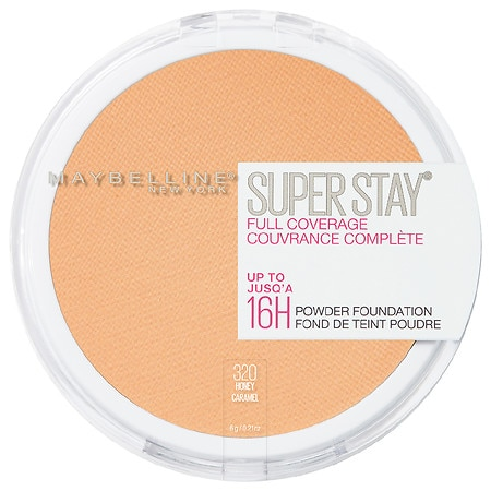 Maybelline SuperStay Full Coverage Powder Foundation Makeup - 0.21 oz.