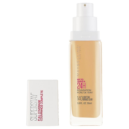 Maybelline SuperStay Full Coverage Liquid Foundation Makeup - 1 fl oz