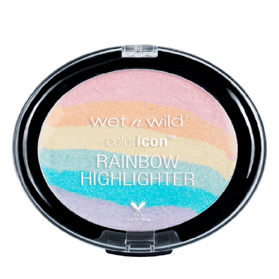 d2ad3d355e Wet N Wild Color Icon Rainbow Highlighter Unicorn Glow1.0 ea