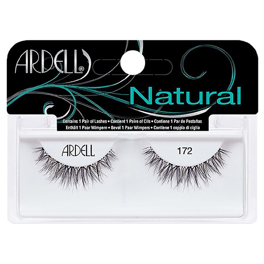 3c7b2b10103 Ardell Natural 172 Black | Walgreens