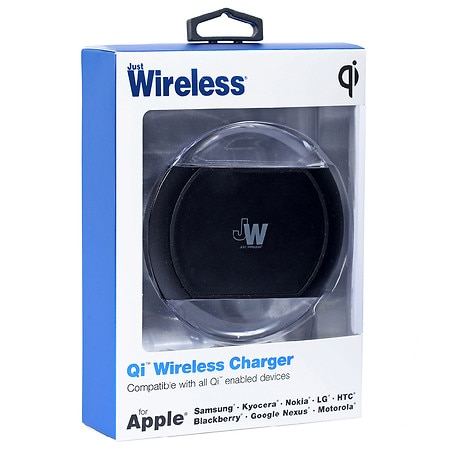 Just Wireless Qi Wireless Charger - 1 ea