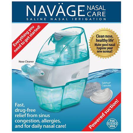 Navage Saline Nasal Irrigation Starter Kit1.0ea