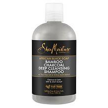 a475ae47dab0 SheaMoisture African Black Soap Bamboo Charcoal Deep Cleaning Shampoo
