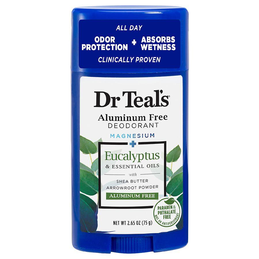 Dr  Teal's Aluminum Free Deodorant with Eucalyptus
