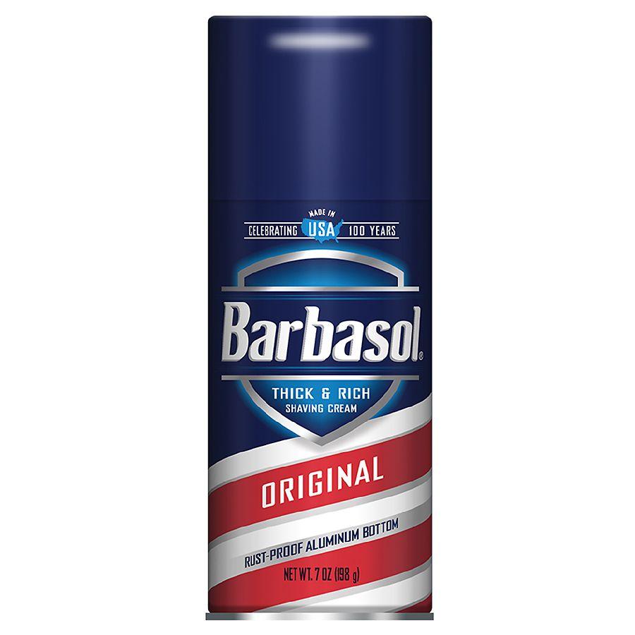 Barbasol Thick Rich Original Shaving Cream Walgreens