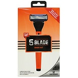 Walgreens Men's 5 Blade Shave Kit
