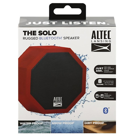 Altec Lansing The Solo Rugged Bluetooth Speaker - 1 ea