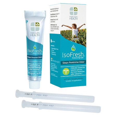 IsoFresh Vaginal Balancing Gel for pH and Odor Control - 1.0 oz