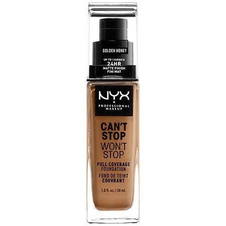 NYX Professional Makeup Can't Stop Won't Stop Full Coverage Foundation - 1 fl oz