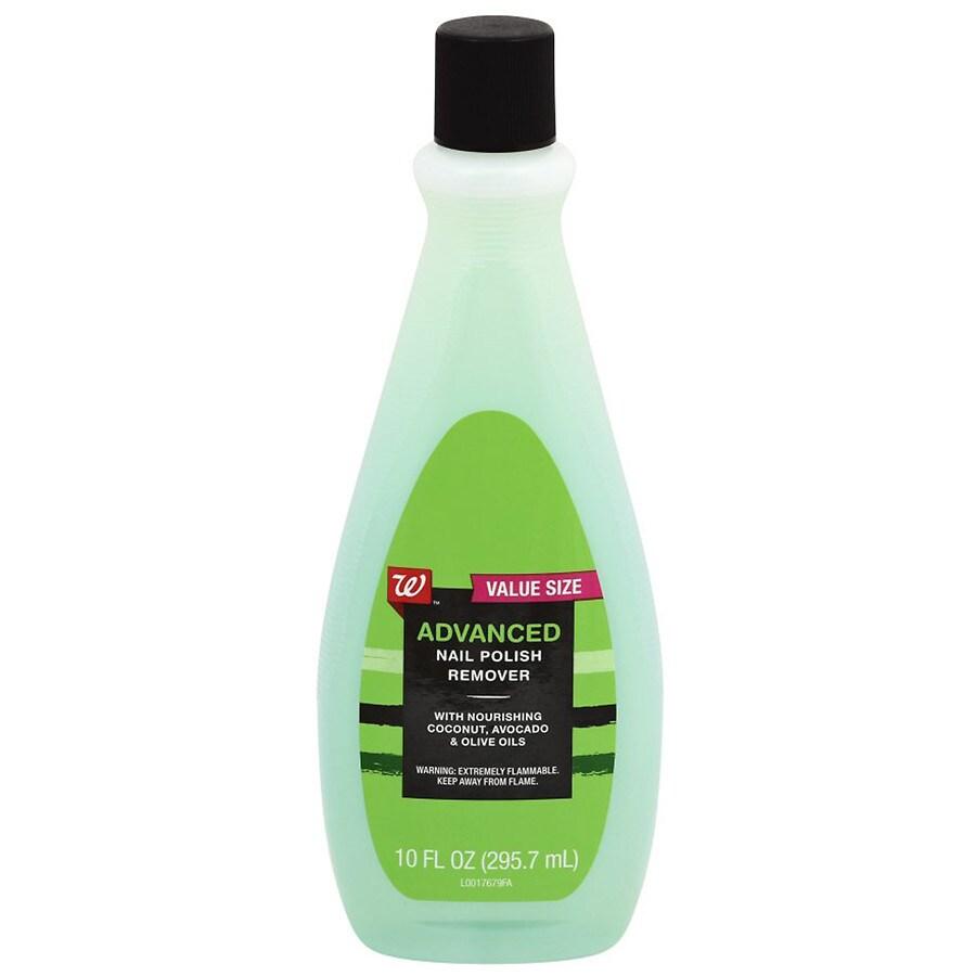 Walgreens Advanced Nail Polish Remover | Walgreens