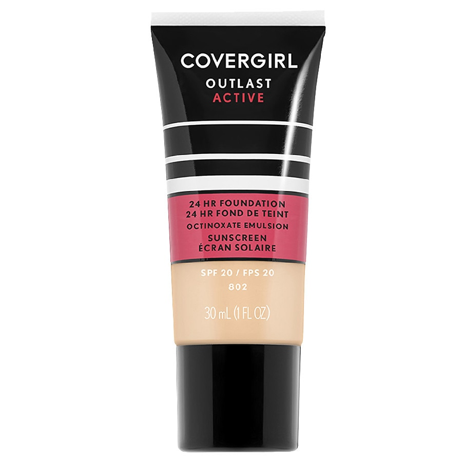 CoverGirl Outlast Active 24 HR Foundation SPF 20, Golden Ivory