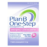 Plan B One-Step Emergency Contraceptive
