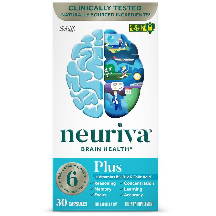 Neuriva Brain Performance Plus Capsules Walgreens