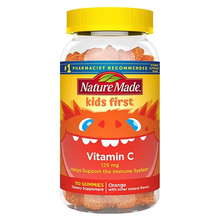 Nature Made Kids First Vitamin C Gummies Tangerine - 110 ea