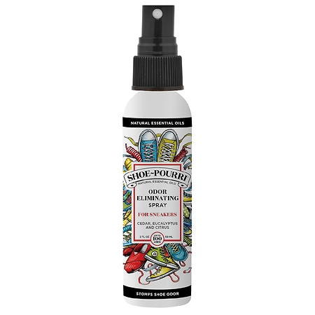 Poo-Pourri Shoe-Pourri Deodorizing Spray Cedar, Eucalyptus and Citrus - 2 fl oz